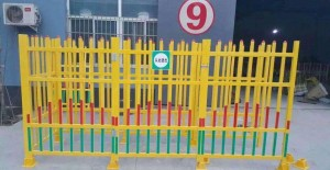 UV and corrosion resistant reinforced FRP fiberglass fence for  garden lawn