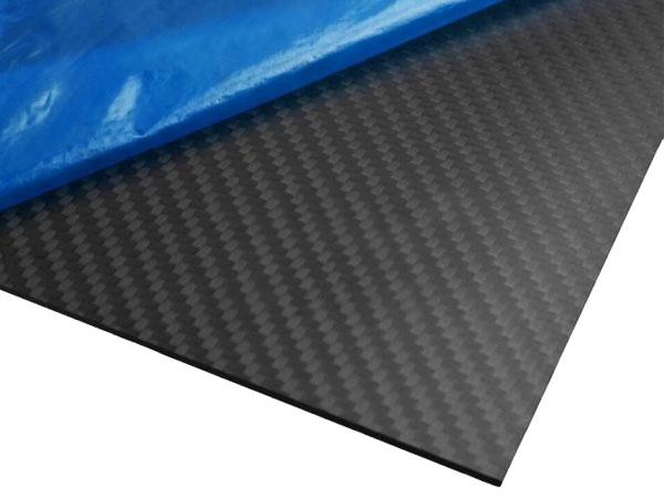 400mm x 500mm x 2mm Carbon Fiber Sheet