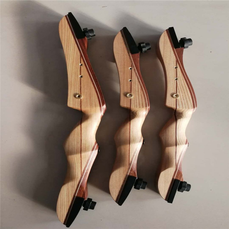 Top Archery takedown archery recurve bow wooden bow limbs for shooting