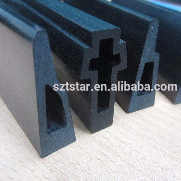 Carbon fiber profiles used in textile machinery parts