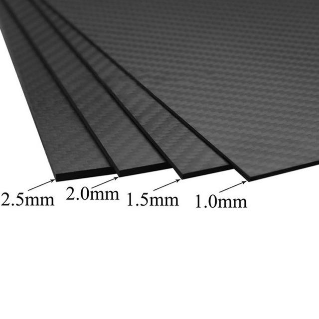 CNC cutting carbon fiber sheet for aircraft drone