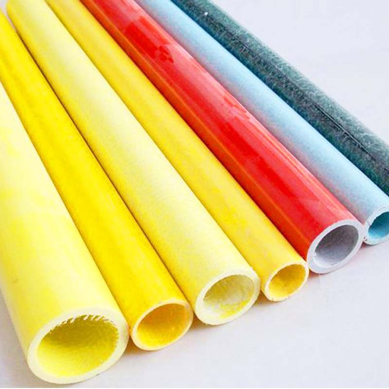 "4"" tube with fiberglass materials from China suppliers,fiberglass tube/pipe"