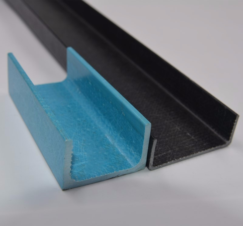 Industry use fiberglass profile ,frp board with beauty shape