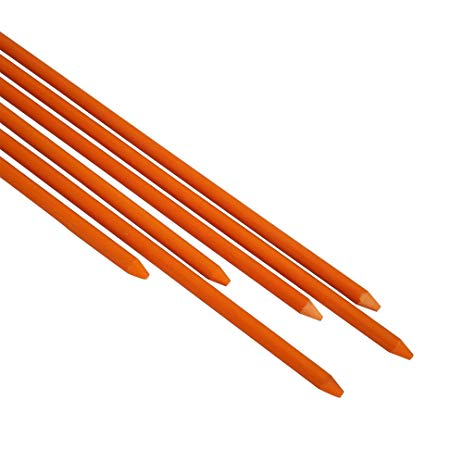 8mm 9mm 10mm 11mm 12mm high strength fiberglass planting stake rod for orchard support