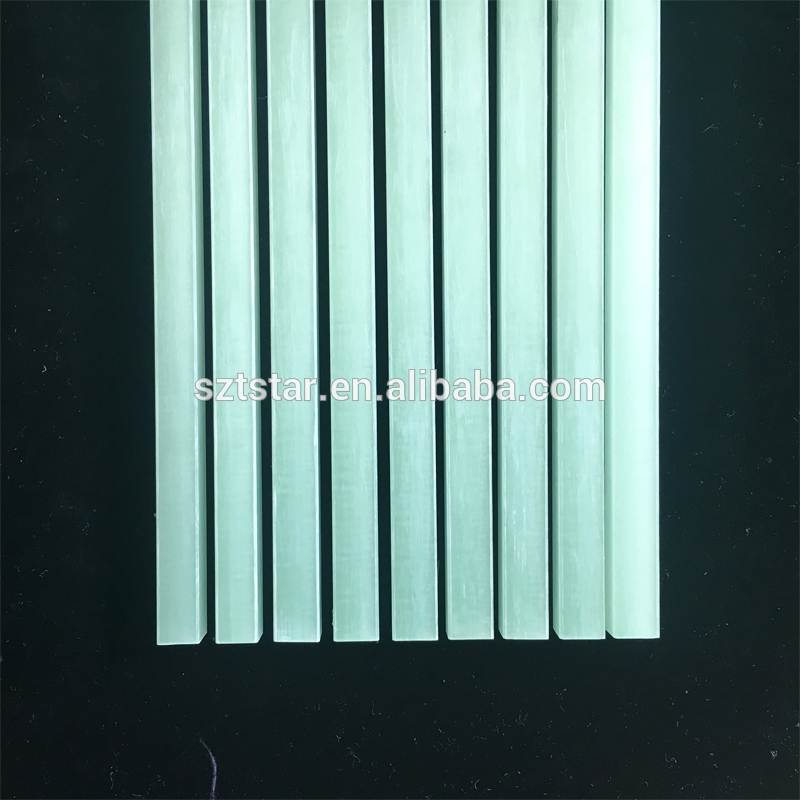 12mm Tstar fiberglass sheet with beauty colour ,frp reinforced plastic strip/flat bar