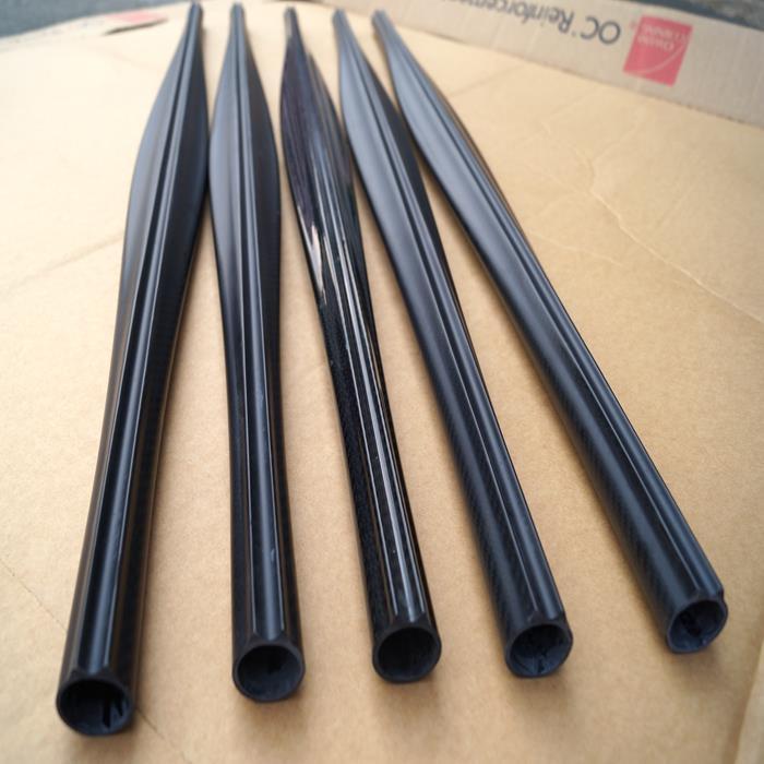 Cuttle Shape carbon fiber Speargun Barrel With Build In Track