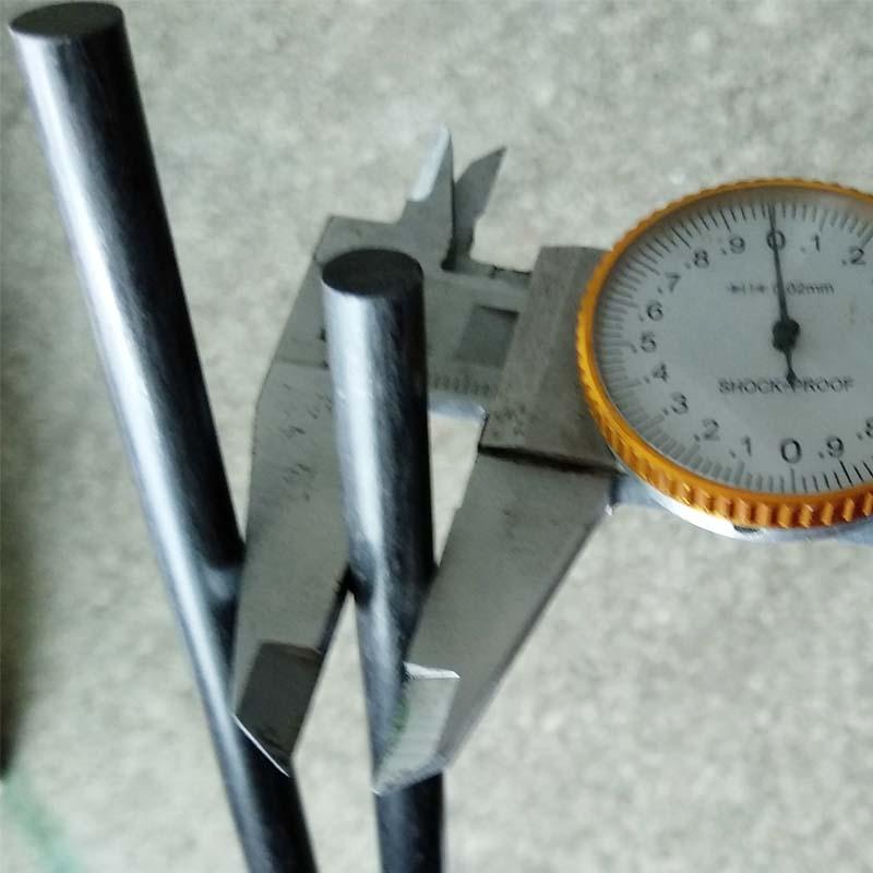 8mm carbon fiber rod, Factory wholesale CFRP solid carbon fiber rod