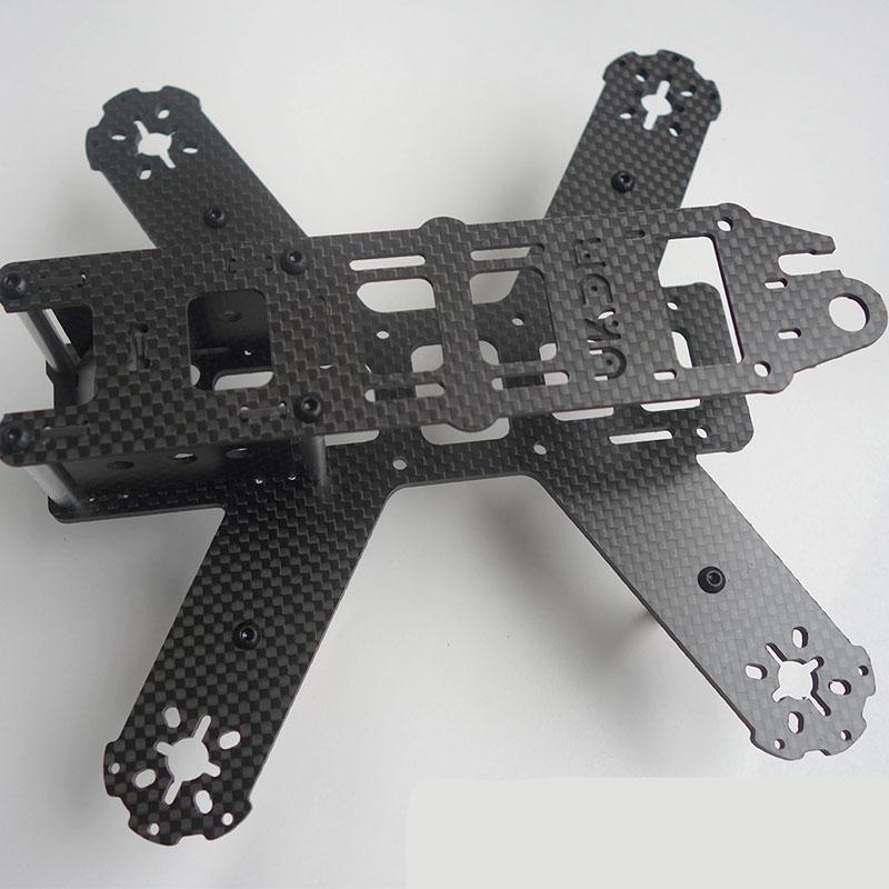 OEM CNC Cutting Carbon Fiber Plates for UVA Frame