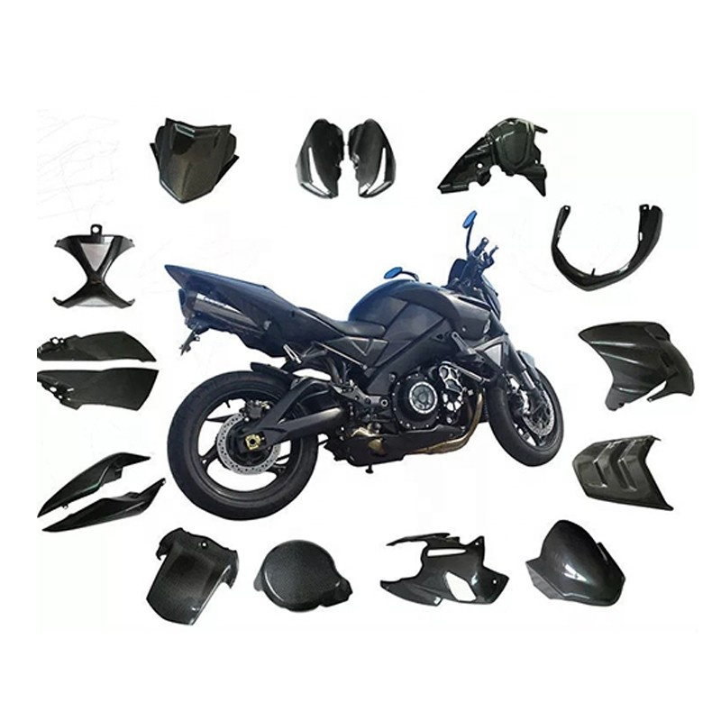 Manufacturer customized carbon fiber car motorcycle parts profile with good quality low price