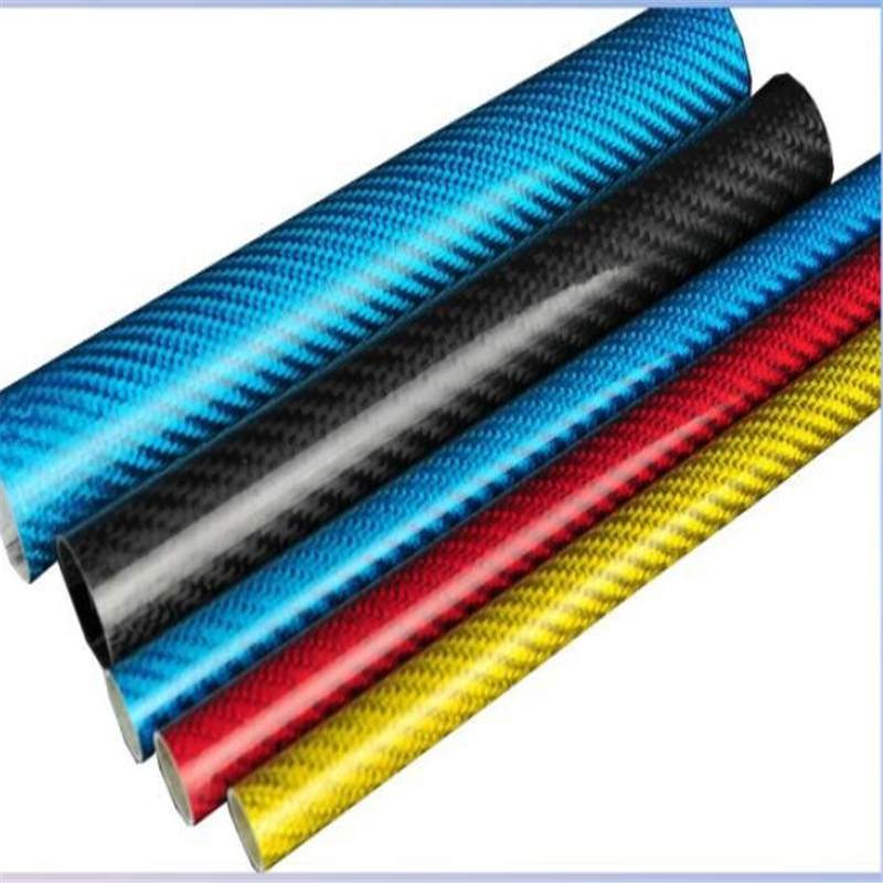 8mm to 30mm  diameter 3K twill Colorful Carbon fiber Tube