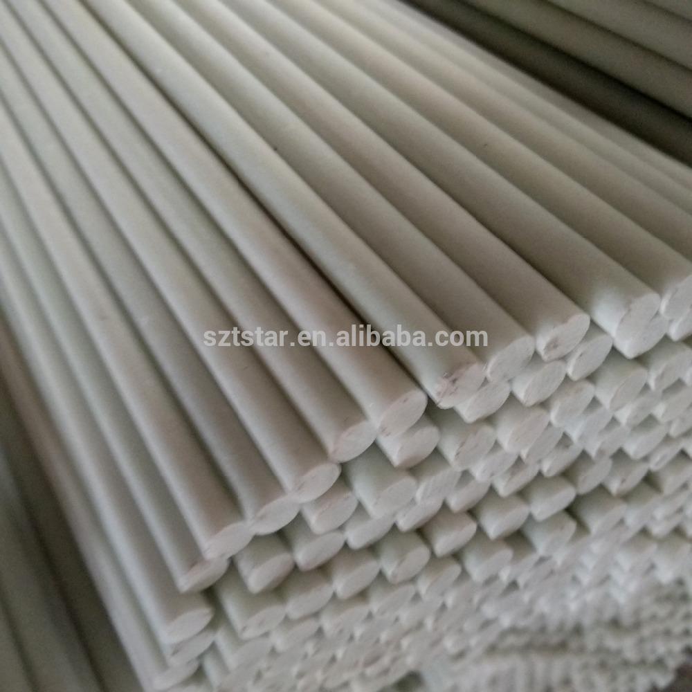 China pultrusion technique glassfiber rod, 0.6 mm-100 mm diameter FRP rod,solid fiberglass rod