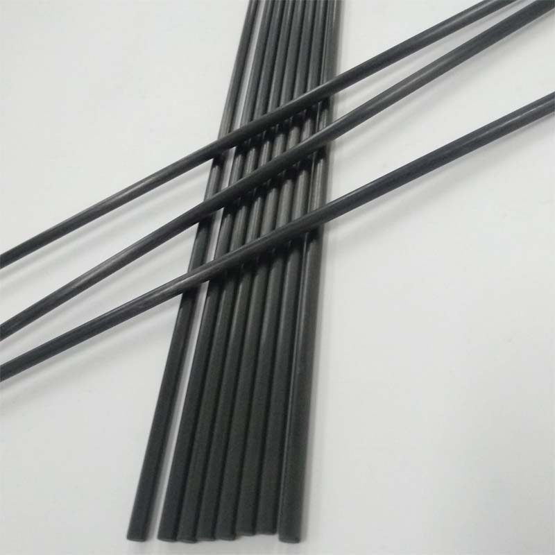 Small Diameter Pultruded Carbon Rod For RC Model Plane