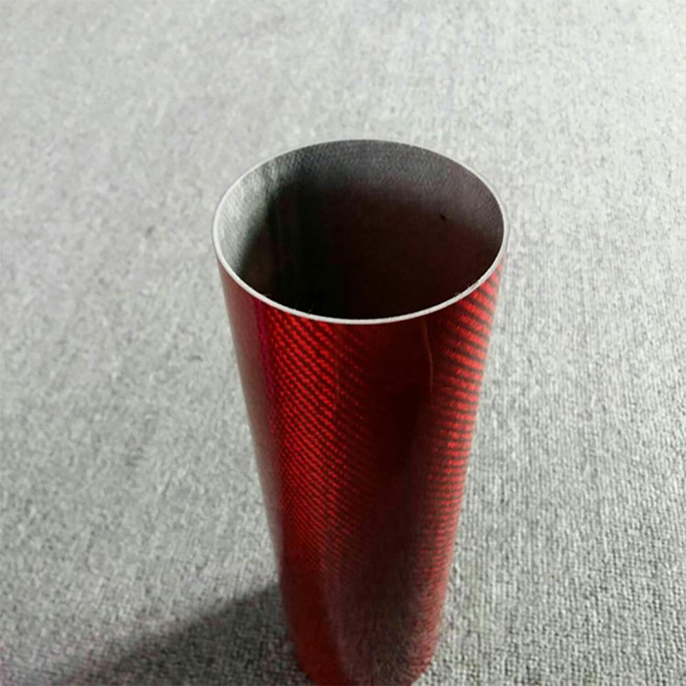 Elegant carbon fiber air intake roll pipe/tube