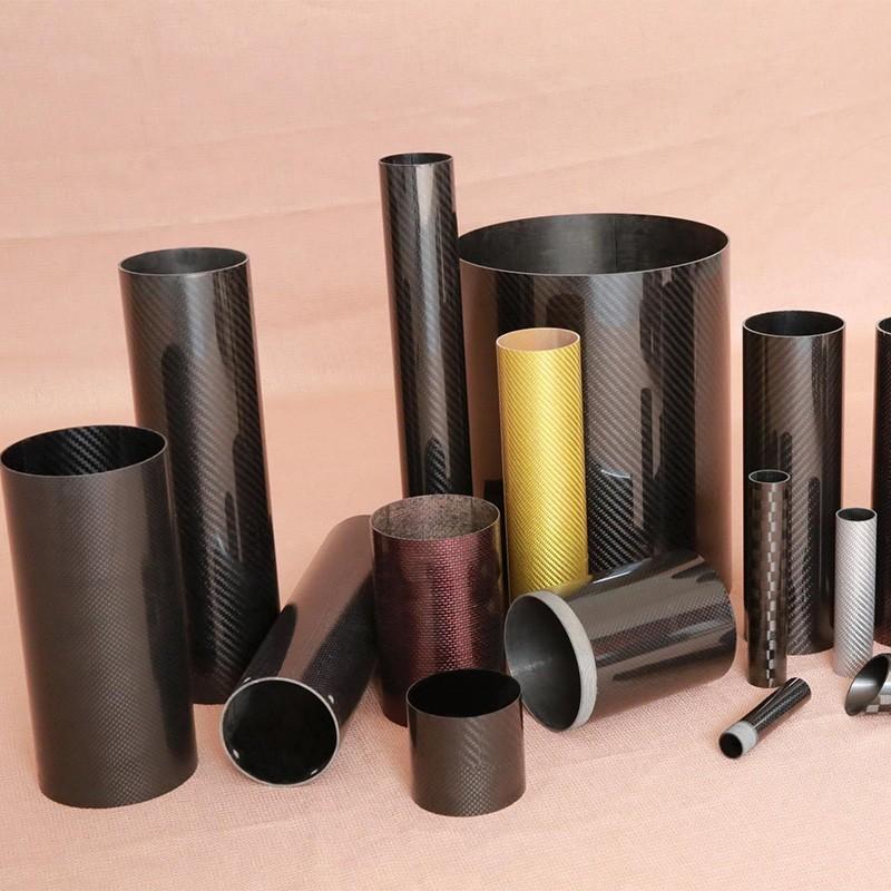 High quality  Carbon Fiber Irregular-shaped tubes, pole , pipe for machine
