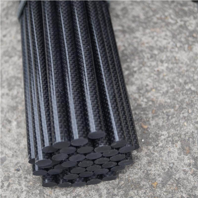 pultrusion 3K Surface Custom Size Carbon Fiber Rod