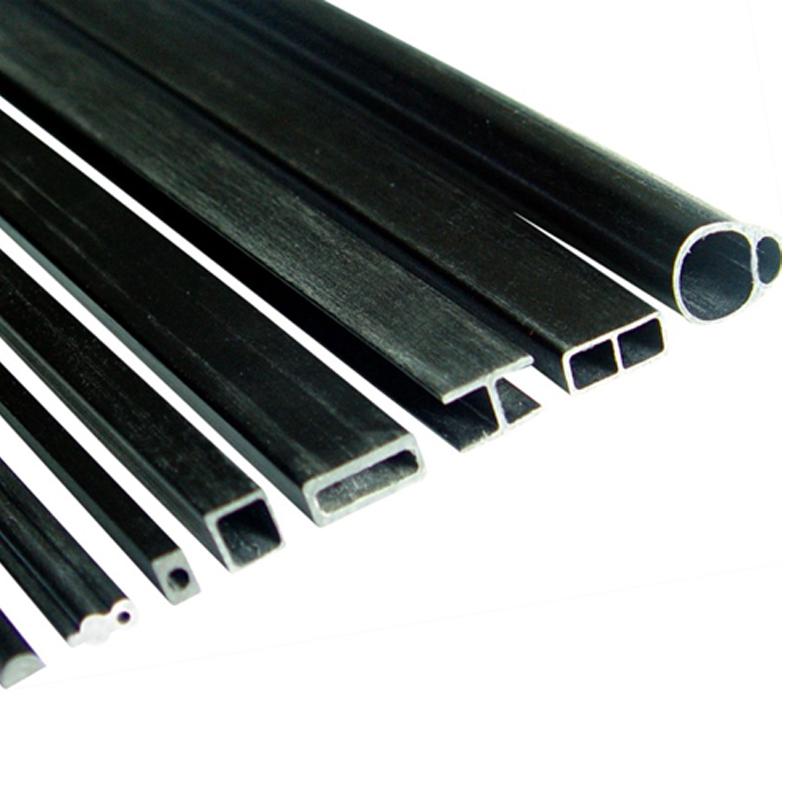 ODM I/U/beam profile, high quality CFRP carbon fiber profiles