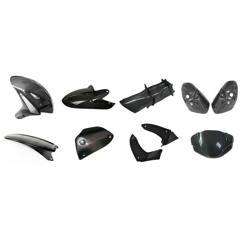 Carbon Fiber Molding Parts Profile For Car Motorcycle Plane