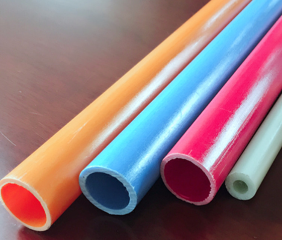 fiber glass tapered tube, frp tube used for breed aquatics