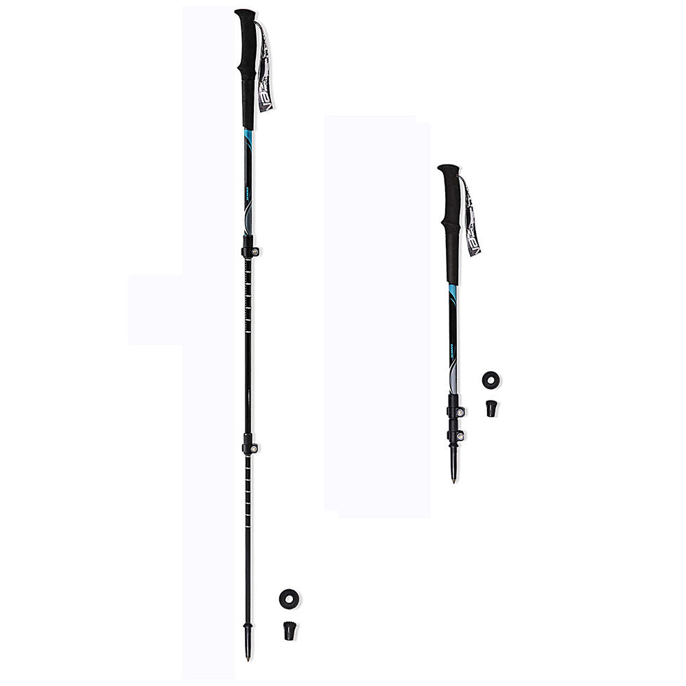 Ultralight tough adjustable full carbon fiber trekking pole for any condition hiking, hiking pole Alpenstock