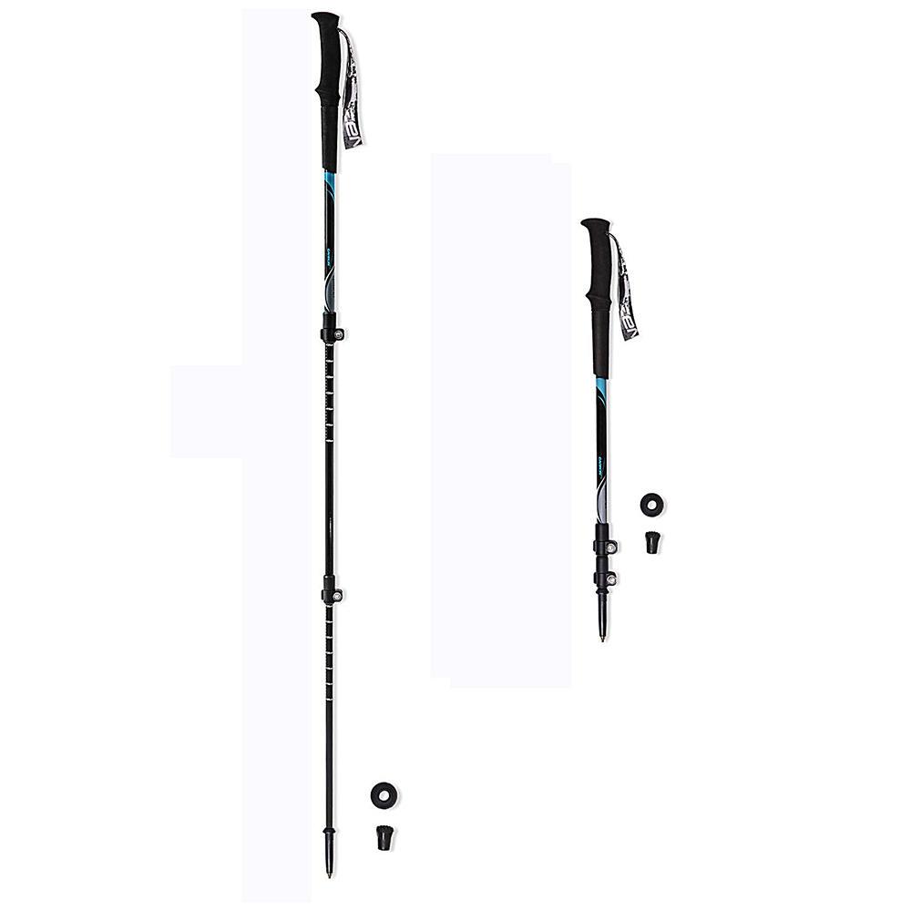 Ultralight tough adjustable full carbon fiber trekking pole for any condition hiking, hiking pole Alpenstock