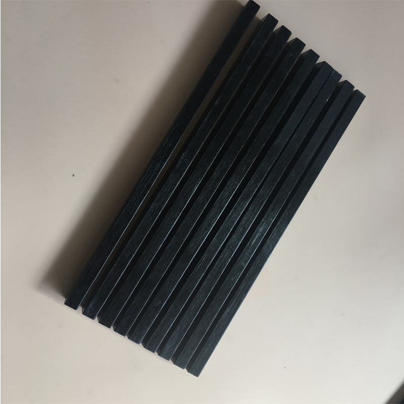 Pultruded Square Carbon Bar Carbon Fiber Profile