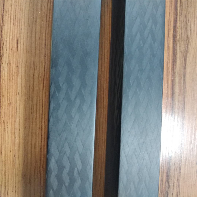 Lower price stock Pul-lbraided Carbon Fiber Tube ,Shaft, Square tubing ,, triangle tube