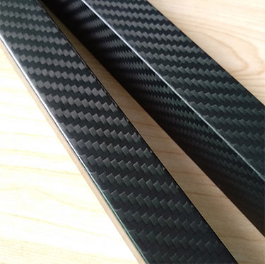 High quality pull braiding carbon fiber Square tube for size 18mm 20mm 25mm 30mm 40mm