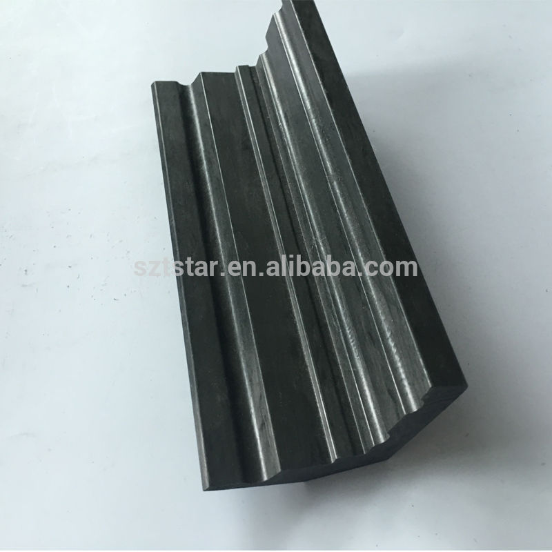 Customize L shaped top quality carbon fiber profile ,L angle beam Unidirectional carbon fiber