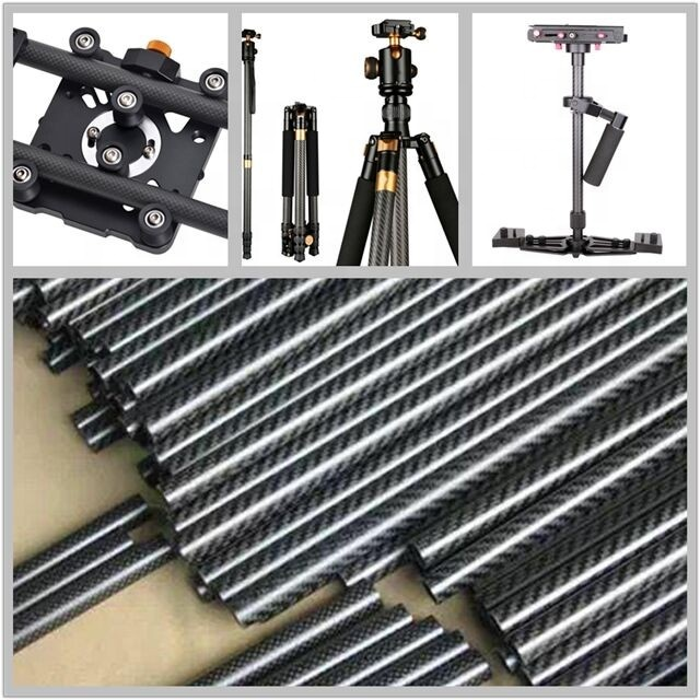 Factory price Adjustable Camera Selfie Stick Made By Carbon Fiber Of Tripod Stand or Legs