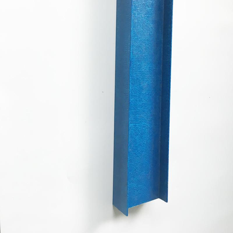 China wholesale composite grp frp protruded fiberglass i profile, high strength fiberglass I beam profile