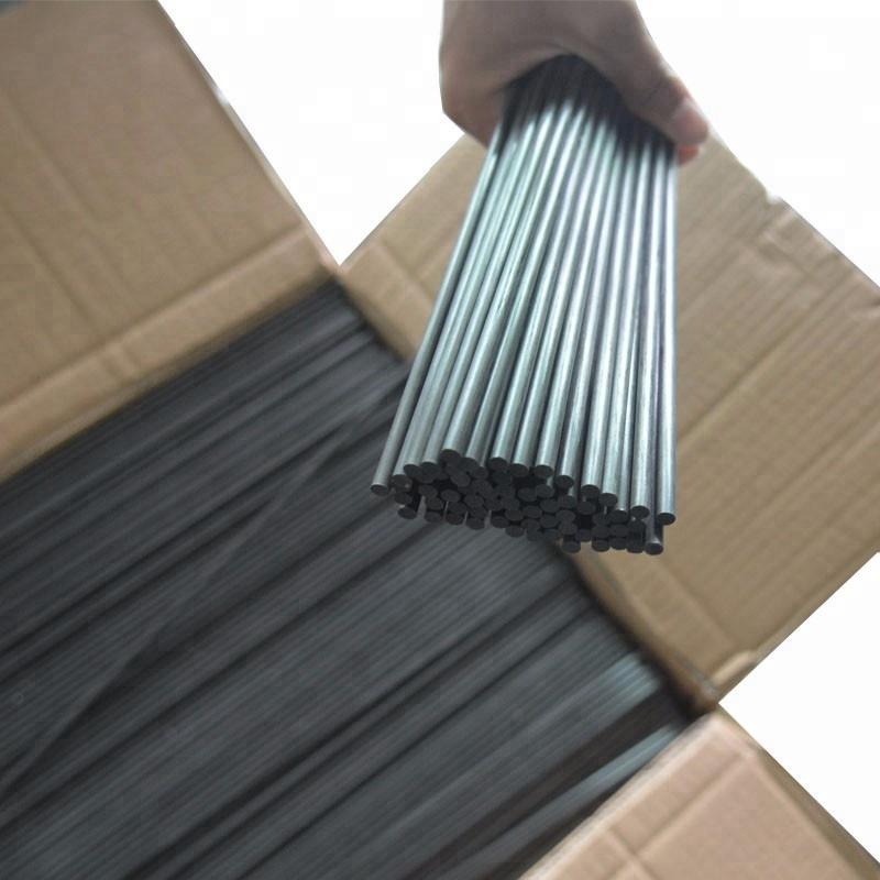 Pultrusion process OD 4.5mm 5.0mmcarbon fiber solid rods for olive harvesting machine