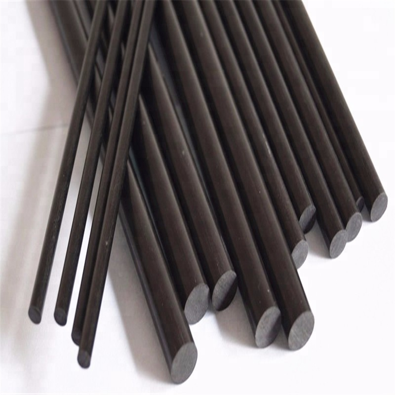 Reinforced hexagon carbon fiber rod ISO certification cf rod