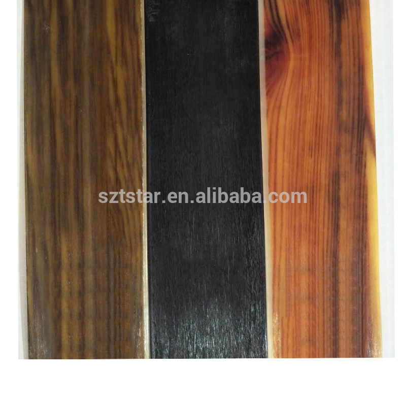 Low price FRP epoxy resin wood fiber glass sheet ,Archery 1.3mmx45mm recurve bow limb, wood grain Fiberglass Bow Limbs