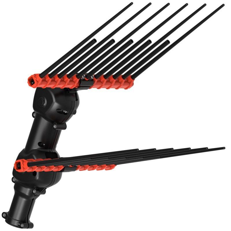 Solid Epoxy Carbon Fiber Rod For Olive Shaker Rake