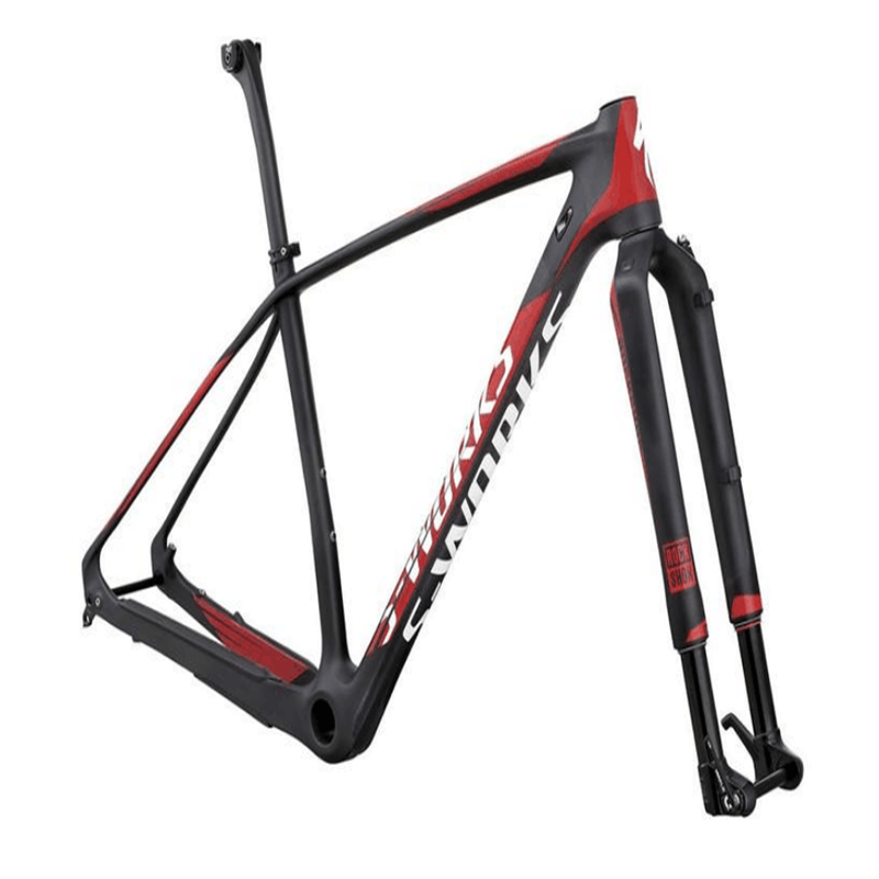 Carbon fiber bicycle frame for mount with custom size and color