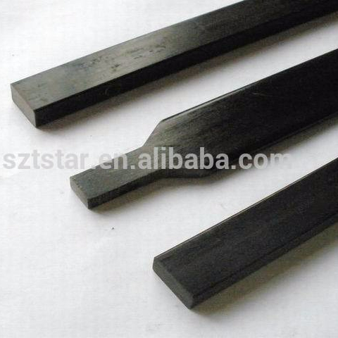 high strength glass fiber flat bar applied to bow arms/tradition bow GFRP