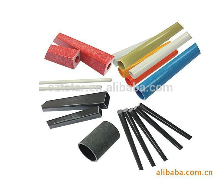 High strength fiberglass tube/fiberglass pipe applied to fitness equipment