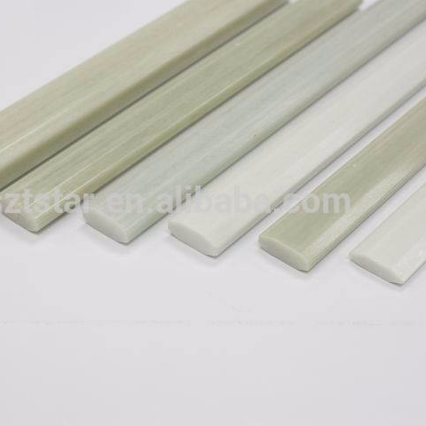 manufacturer producing glass fiber flat bars,board,fiber glass solid rod,frp production