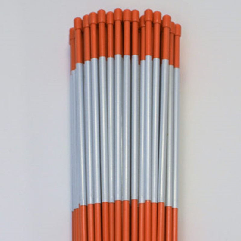 High Visibility Reflector Snow Stakes,Fiberglass Rod Lower Price Than Flashing Led Solar Driveway Marker Light
