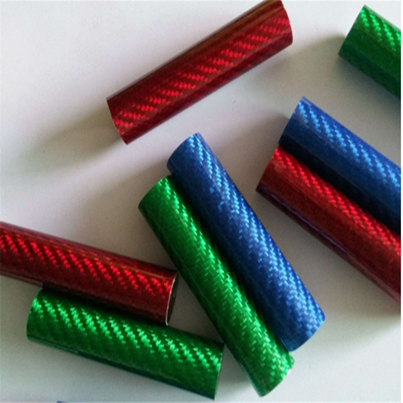 2019 Newest 3K twill  Carbon Tube  Colorful Carbon  Tubing