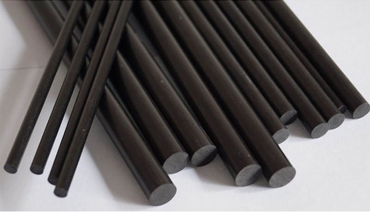 3K Surface Custom Size Carbon Fiber Rod