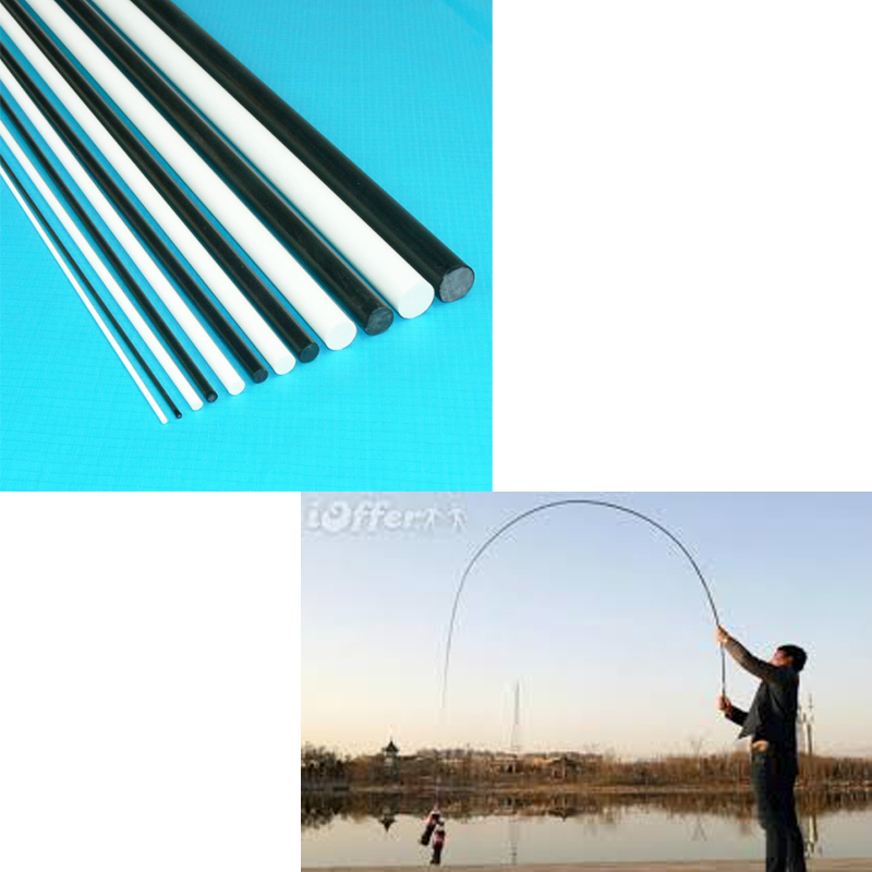 Flexible Low Price Telescopic Fiberglass Fishing Rod For Sale