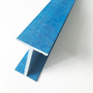 Light weight reinforced solid fiber glass T L V shape, fiberglass profile for industry