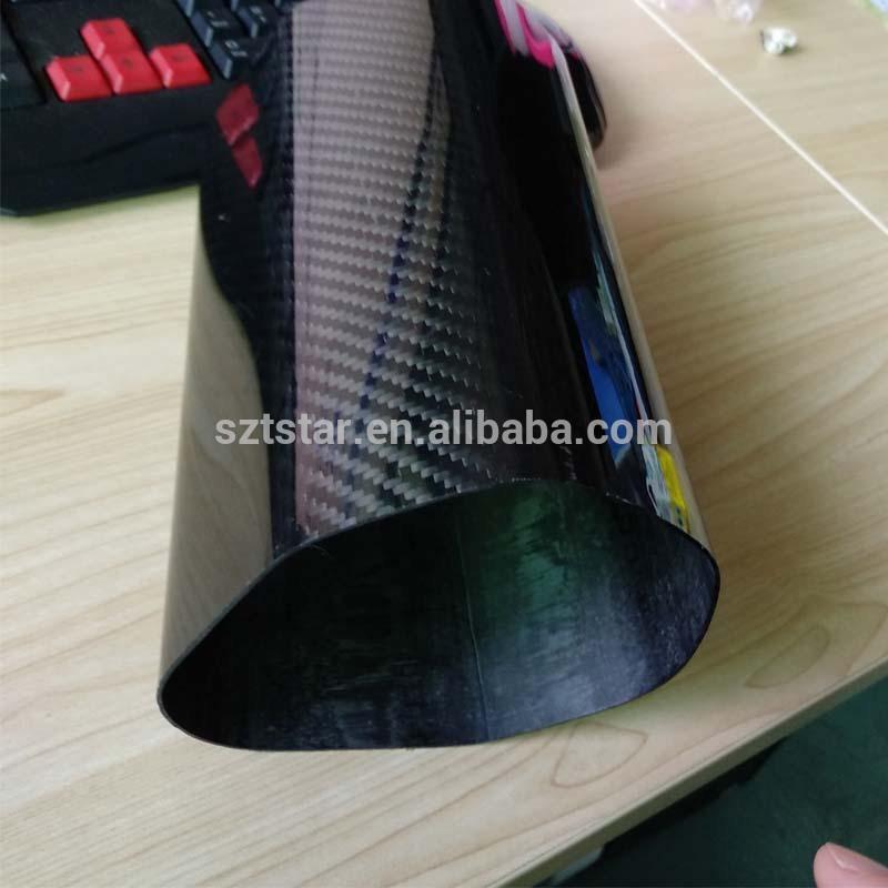 OEM custom Carbon Fiber Exhaust Funnel for motorcycle/car Exhaust pipe carbon fiber