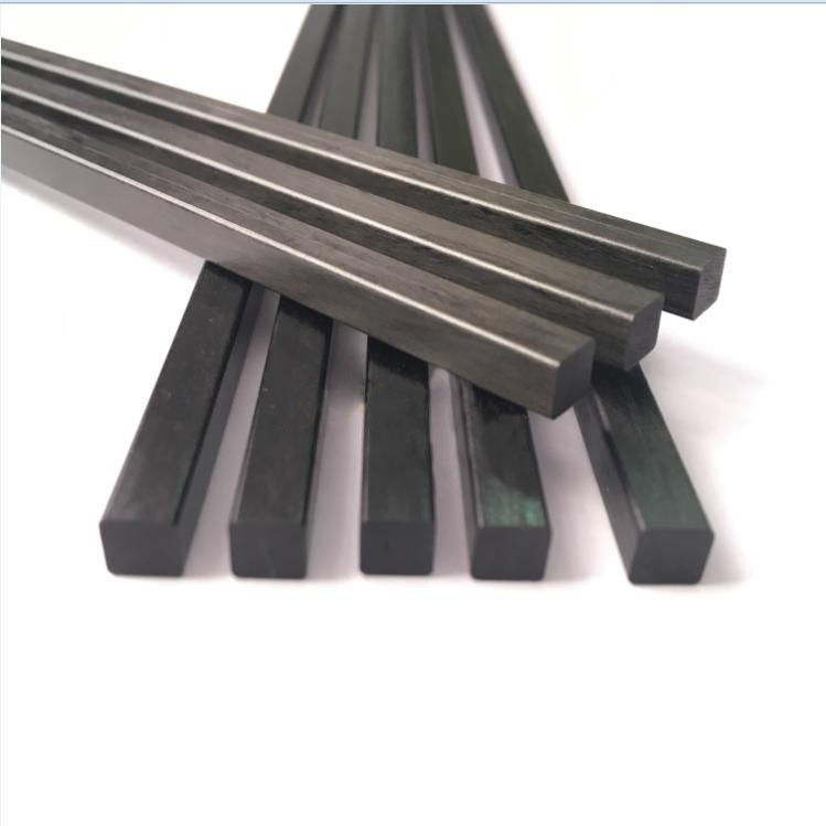 Pultruded Carbon fiber Rods With Square Shape