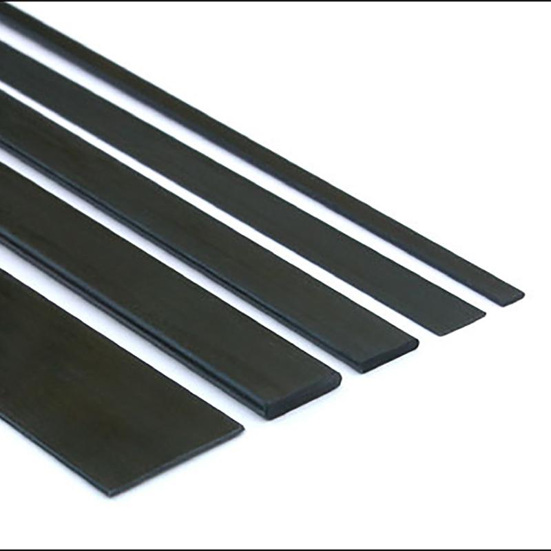 CFRP Flat Shape Bar,Pultrusion Carbon Fiber Strip For Model Planes