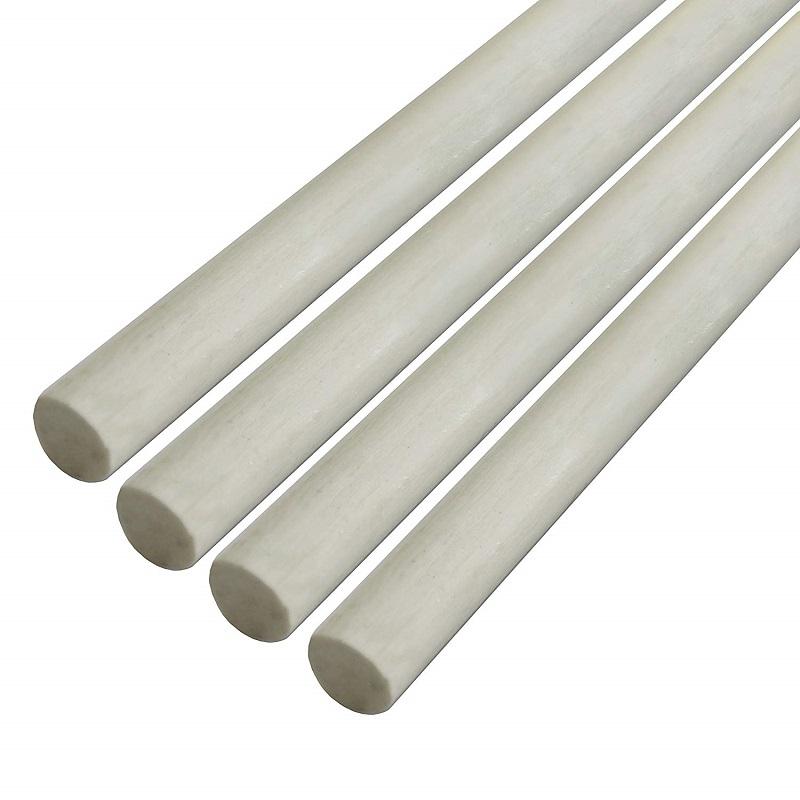 White Fiberglass Rod For Fence Post,Kite,Handles