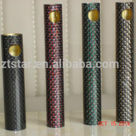 China manufacture custom size and colors carbon fiber tube
