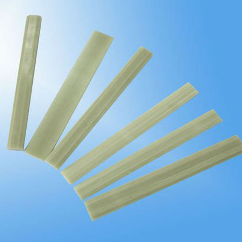 Pultruded fiberglass reinforced plastic flat bar/ fiberglass flat bar with factory price