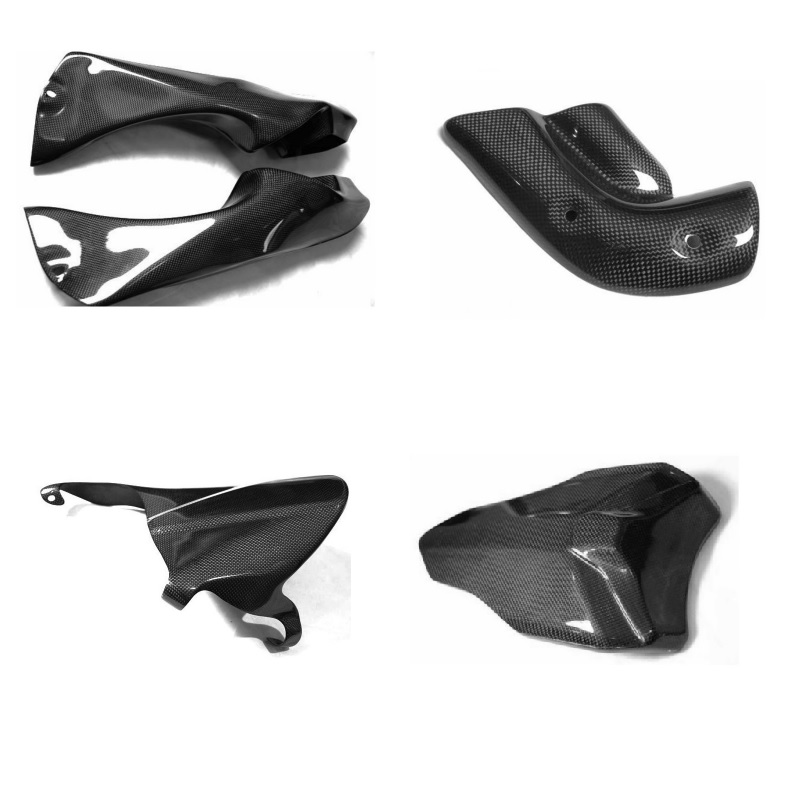 3K Carbon Fiber Parts For Yamaha Motorcycle Accessories